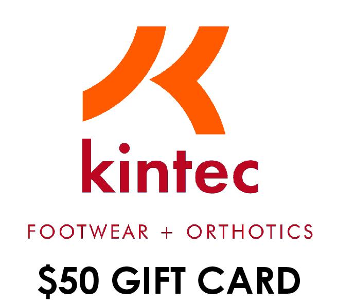 Closed – Top fundraising team: $50 Kintec gift card