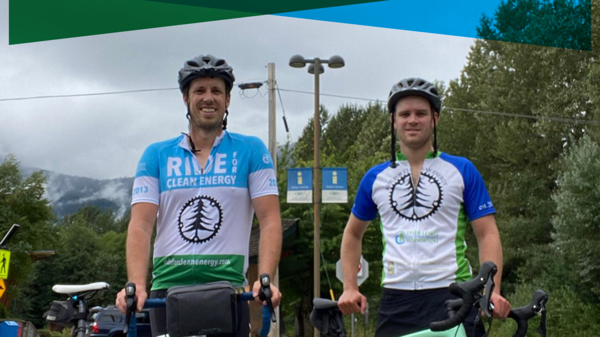 The 2021 Ride For Clean Energy totals